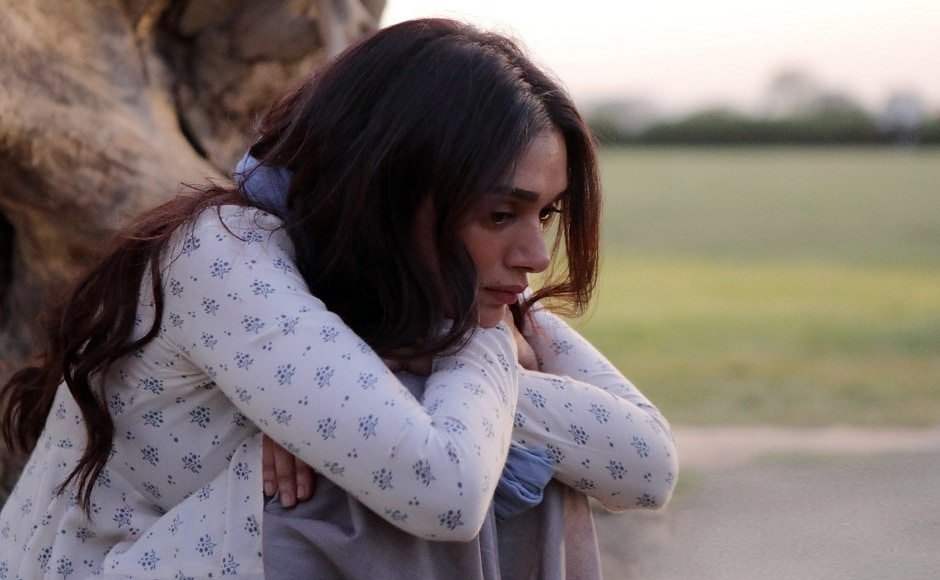 Aditi Rao Hydari in a still from 'Kho Diya', the upcoming song from Bhoomi. The film is an Omung Kumar directorial.
