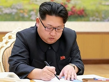 File photo of Kim-Jong-un. AFP