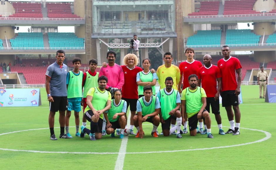 Free entry for Federation Internationale de Football Association legends match at DY Patil Stadium