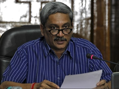 File image of Manohar Parrikar. Reuters