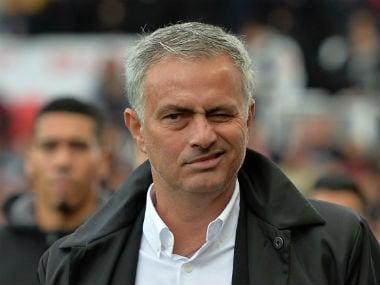 Manchester United manager Jose Mourinho. Reuters