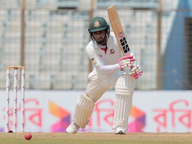 File image of Bangladesh's captain Mushfiqur Rahim. AP