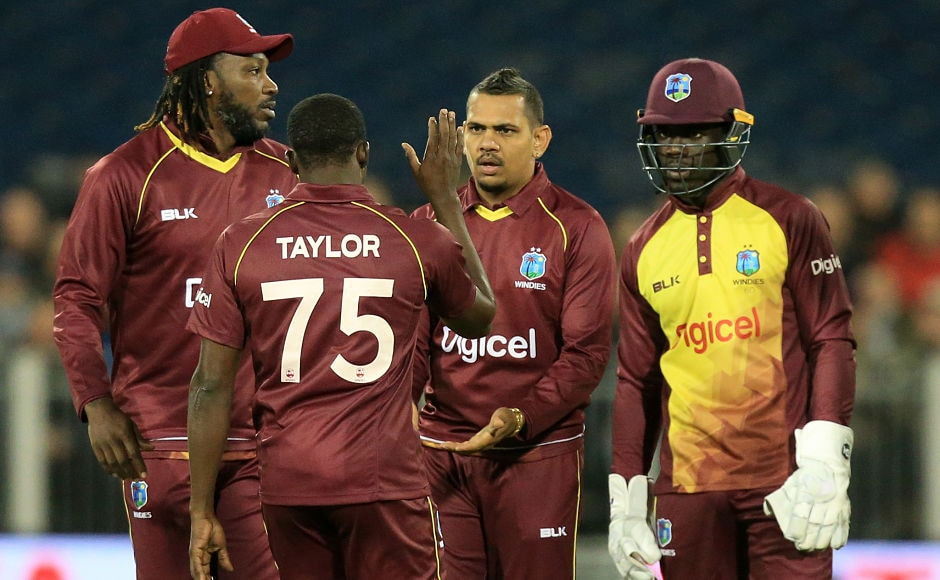 Windies spinner Sunil Narine picked up two wickets and only conceded 15 runs guiding his team home against England in the only T20I at Chester-le-Street. AFP