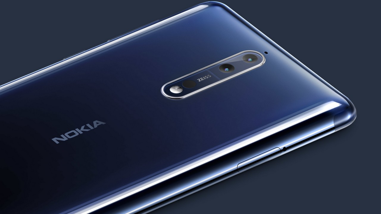 The Nokia 8 comes with Zeiss optics