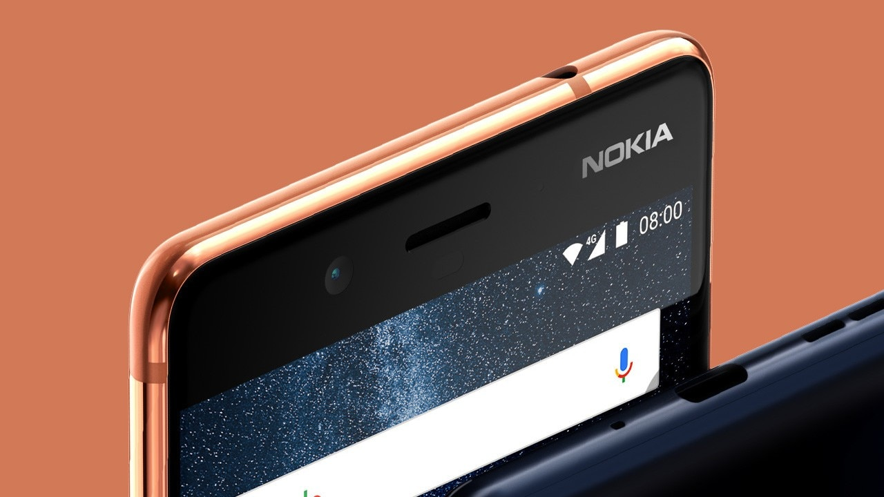 The Nokia 8 features a 3.5 mm headphone jack