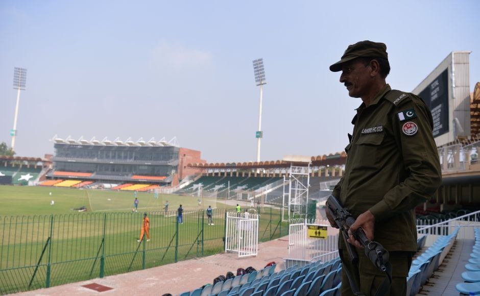 Lahore's Gaddafi stadium gears for international cricket's return as Pakistan hosts World XI