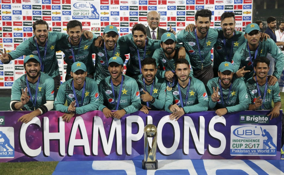 Ahmed Shehzad's whirlwind 89 helps Pakistan beat World XI in 3rd T20I, clinch series 2-1