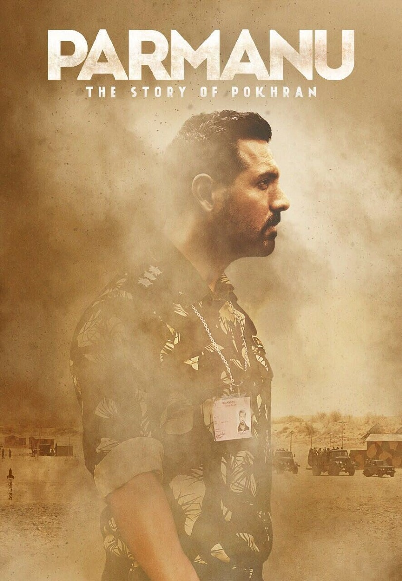 John Abraham in a poster of Parmanu: The Story Of Pokhran. Twitter@TheJohnAbraham