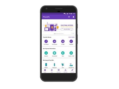 Image Courtesy: PhonePe App on Play Store