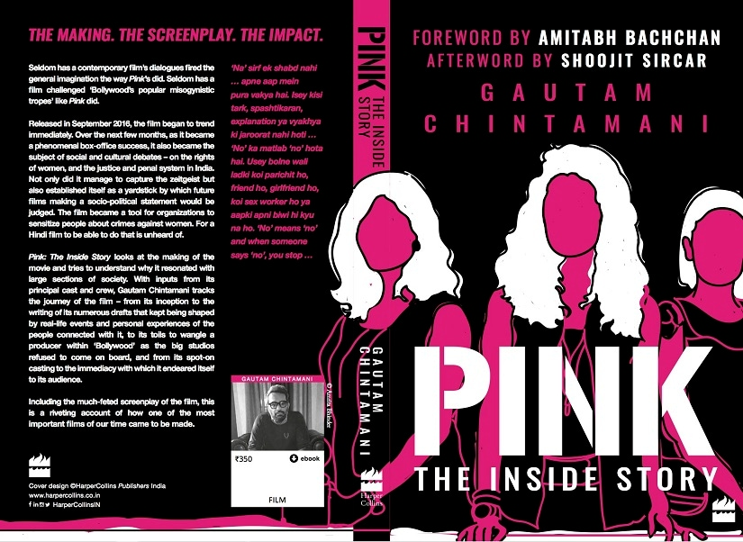 Book cover for Pink: The Inside Story. Image courtesy HarperCollins India