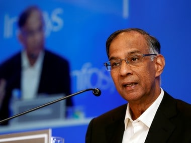 File image of Infosys ex-chairman R. Seshasayee. Reuters