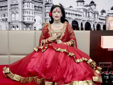 File image of Radhe Maa. Image taken from Facebook
