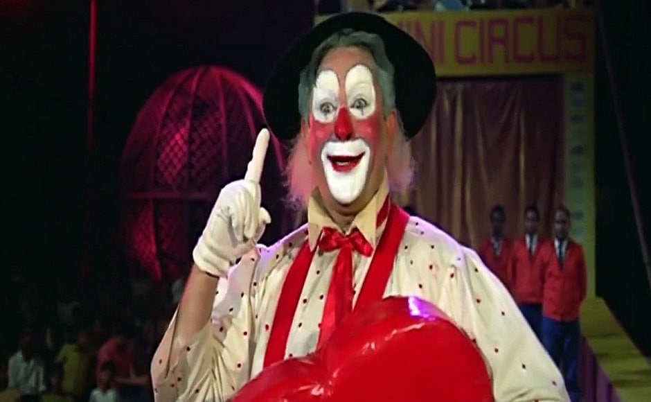 Mera Naam Joker, starring Raj Kapoor in the titular role, was not an instant hit but eventually became a classic. It is a travesty that Raj Kapoor's joker mask and costumes got destroyed in the fire.