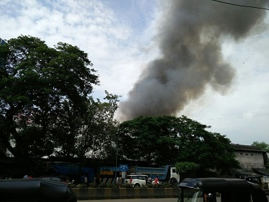 Fire at RK Films and Studio engulfs TV show Super Dancer's set in Mumbai's Chembur suburb; no casualties reported so far