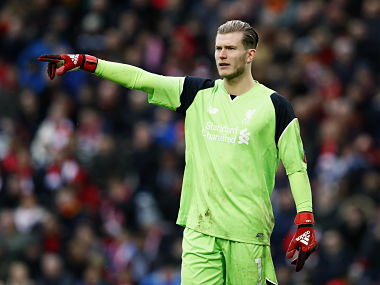 """Britain Football Soccer - Liverpool v Wolverhampton Wanderers - FA Cup Fourth Round - Anfield - 16/17 - 28/1/17 Liverpool's Loris Karius Action Images via Reuters / Jason Cairnduff EDITORIAL USE ONLY. No use with unauthorized audio, video, data, fixture lists, club/league logos or """"live"""" services. Online in-match use limited to 45 images, no video emulation. No use in betting, games or single club/league/player publications. Please contact your account representative for further details. LIV 16 - 14742747"""