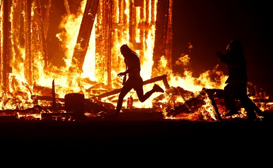 Man Dies at Burning Man After Running Into a Fire