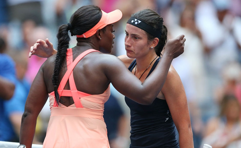 It was an emotional match for both the players who returned from career-threatening injuries. While Stephens is back from a major foot injury that saw her out of action for a year, Sevastova took nearly two years off with back and muscle injuries. Reuters