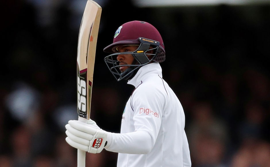 West Indies' Shai Hope was once again the only batsman who provided some resistance for the visiting side, he notched a half-century in the 2nd innings helping Windies set a target of over 100. Reuters