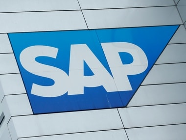 SAP logo at SAP headquarters in Walldorf, Germany. Reuters.