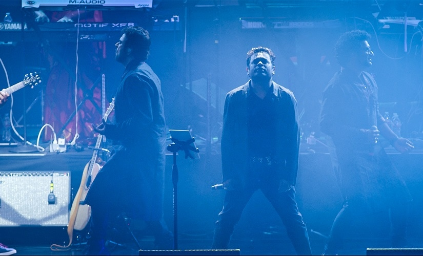 A still from AR Rahman's film One Heart