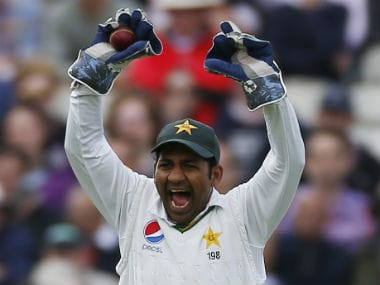 The upcoming Test series against Sri Lanka will be Safraz Ahmed's first as Test captain. Reuters