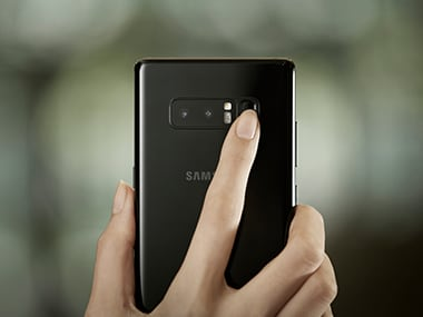 A closer look at the dual-camera on the Note 8