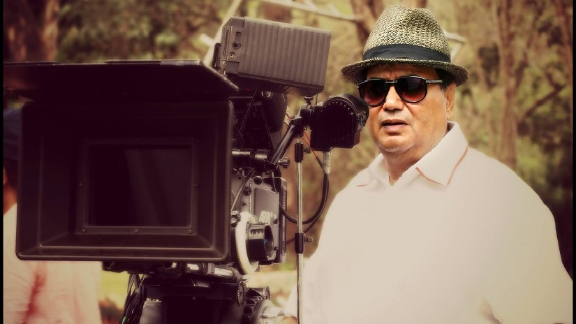 Subhash Ghai in action mode. Image courtesy: Facebook