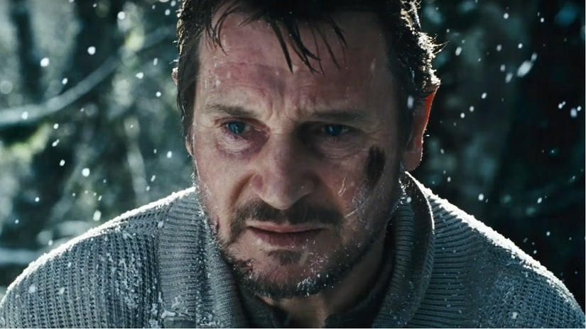 A still from the movie, The Grey. Screen grab via YouTube/ Movieclips Trailers