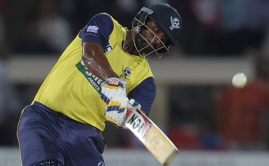 World XI batsman Thisara Perera nailed the finisher's role and smashed 47 runs at a strike rate of 247.37 to keep the Independence Cup alive. AFP