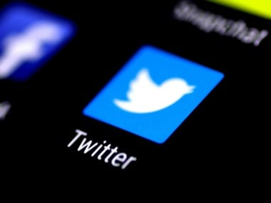 The Twitter application is seen on a phone screen. Reuters.