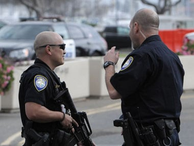 File photo of US police. AFP