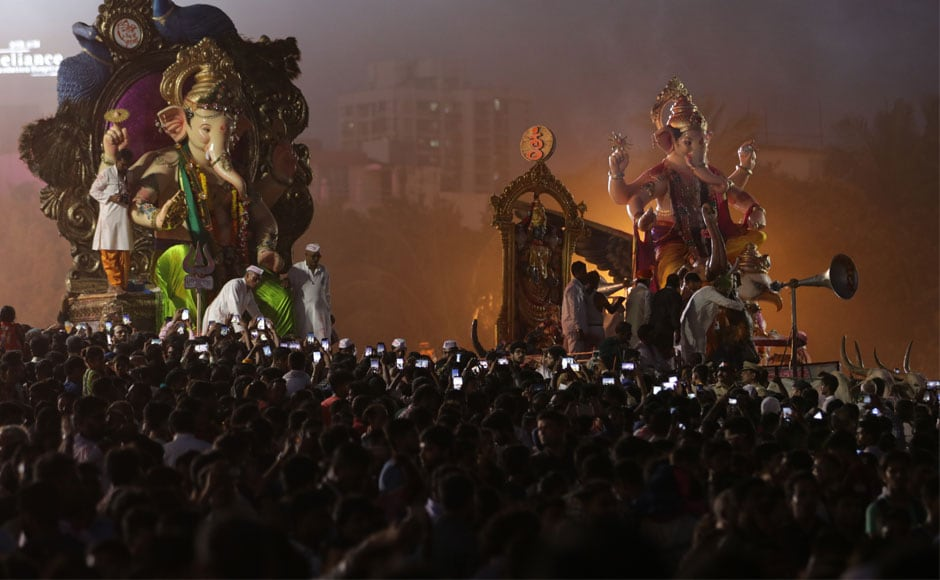 This was the 125th year of the state's biggest public festival. Image courtesy Sachin Gokhale/Firstpost