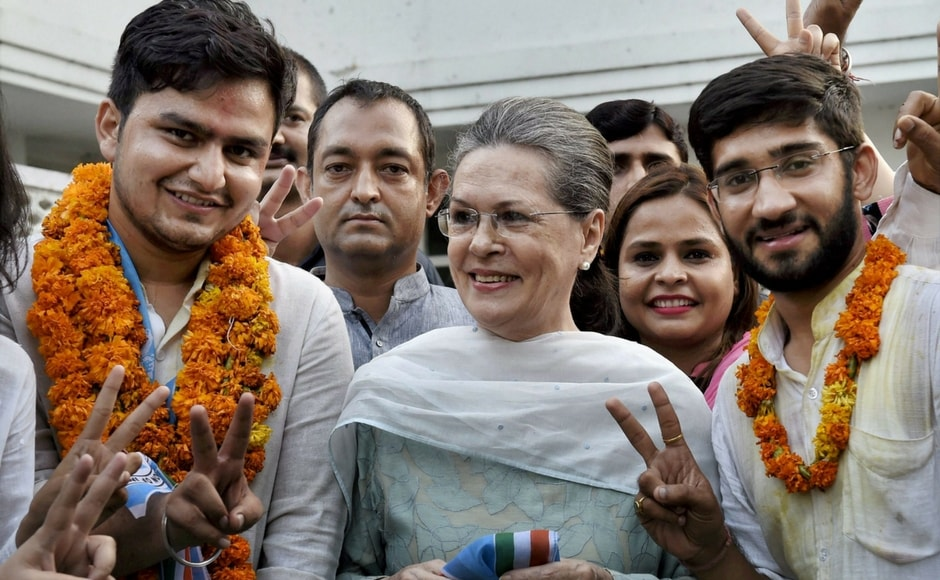In a major comeback, the Congress' student wing NSUI on Wednesday bagged the posts of president and vice-president in the Delhi University Students Union (DUSU). RSS-affiliated ABVP won the posts of secretary and joint secretary. PTI