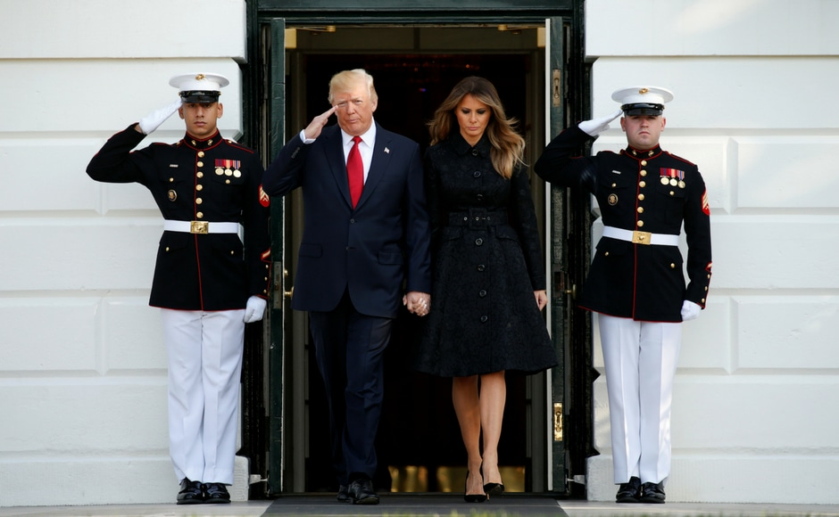 Ground Zero Remembers 9/11, President and First Lady Join Moment of Silence