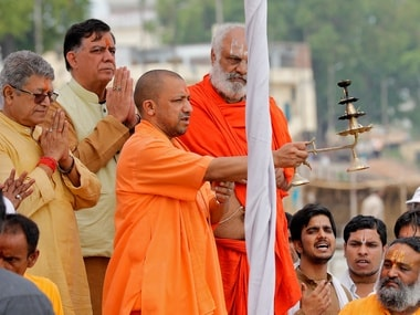 File image of UP chief minister Yogi Adityanath. Reuters