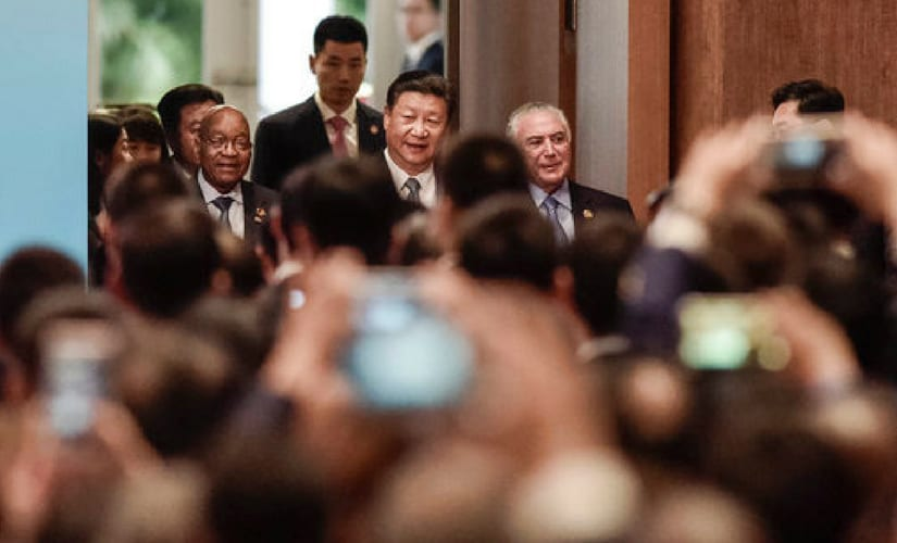 Xi said he wants BRICS to play a more important role in international affairs, even as some observers suggest its power is waning given rivalry between China and India and the economic woes of Brazil, Russia and South Africa. AP