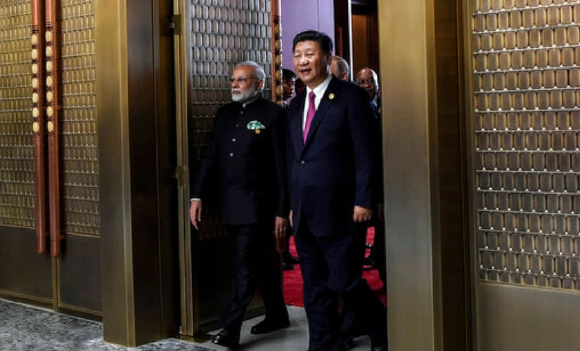 A meeting between Xi and Prime Minister Narendra Modi is due to take place on Tuesday. Last week, the two hurriedly concluded a 10-week border stand-off over disputed land in the Himalayas, which was their most serious confrontation in decades, to smooth the way for Modi's participation in the summit. AP