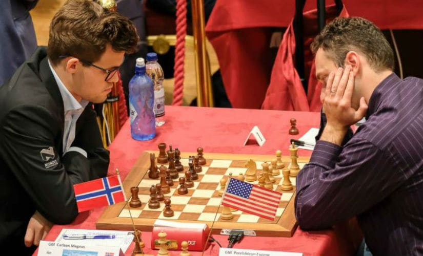 World champion Magnus Carlsen threw all but the kitchen sink at the young American teenager Jeffery Xiong. John Saunders