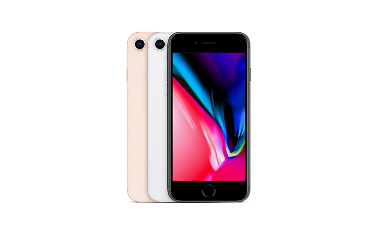 The company announced the iPhone 8 in a launch event held at Apple Park in Cupertino along with iPhone 8 Plus and iPhone X. Image credit: Apple.