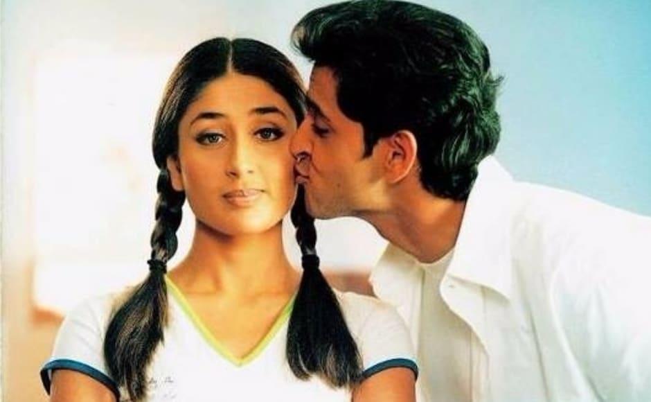 Kareena Kapoor, Rani Mukerji, Hrithik Roshan and a love triangle based upon goofy mishaps. What's not there to love? Image from Facebook/Kareena Kapoor.