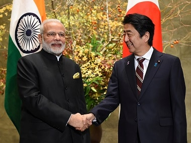 File image of Narendra Modi and Shinzo Abe. Reuters