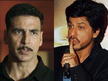File images of Akshay Kumar-Shah Rukh Khan.