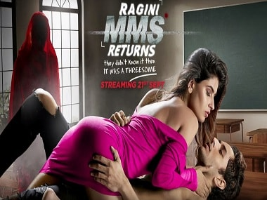 Youtube screen grab from the Ragini MMS Returns trailer.