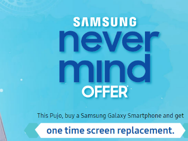 Samsung 'Never Mind Offer'. Samsung