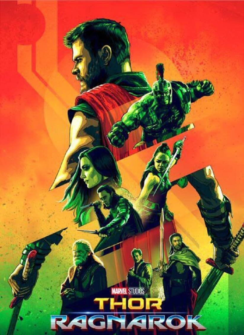 A poster of Thor: Ragnarok. Image from Twitter