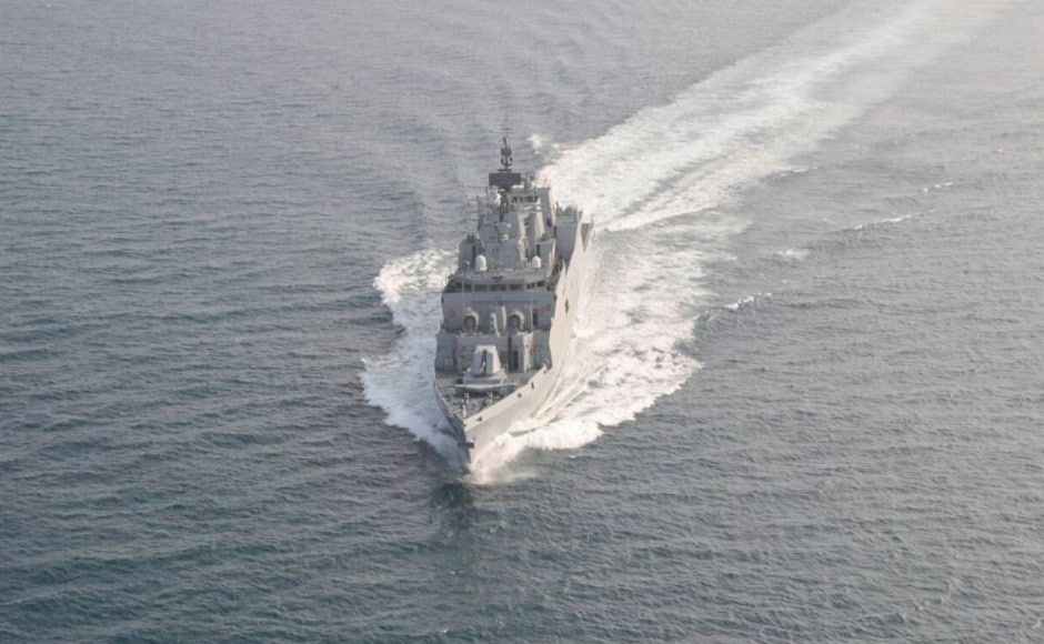 The stealth corvette has been designed by the Indian Navy's in-house body, the Directorate of Naval Design under Project 28 (Kamorta Class). INS Kiltan is also the first major warship to have undertaken sea trials of all major weapons and sensors as a pilot project and is ready to be operationally deployed on the day of joining the Indian Navy. Image courtesy: Twitter/@indiannavy