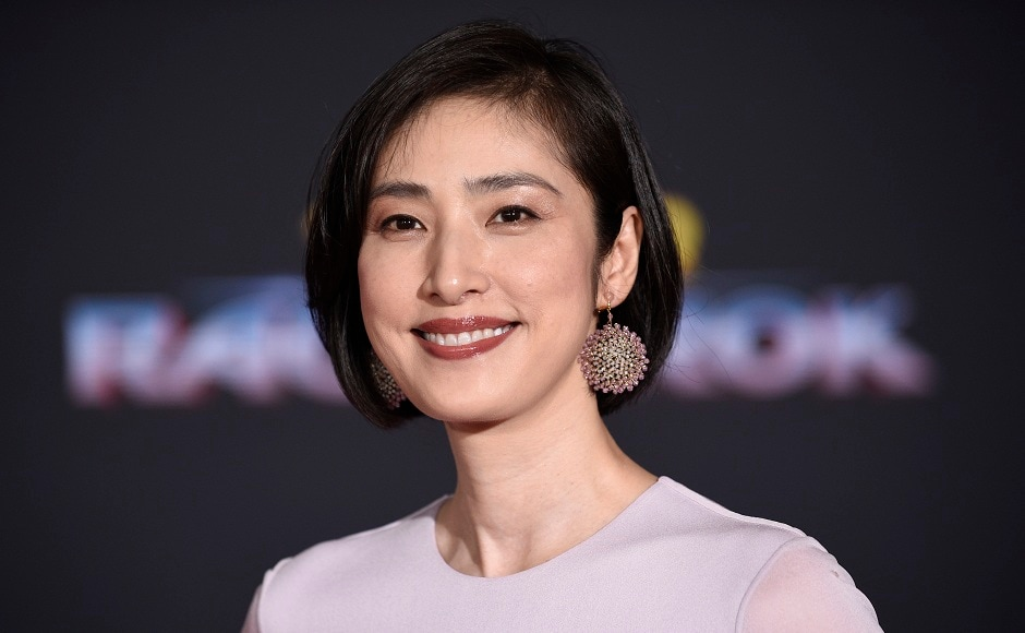 Yuki Amami arrives at the world premiere of Thor: Ragnarok at the El Capitan Theatre in Los Angeles. Photo courtesy: AP/Chris Pizzello