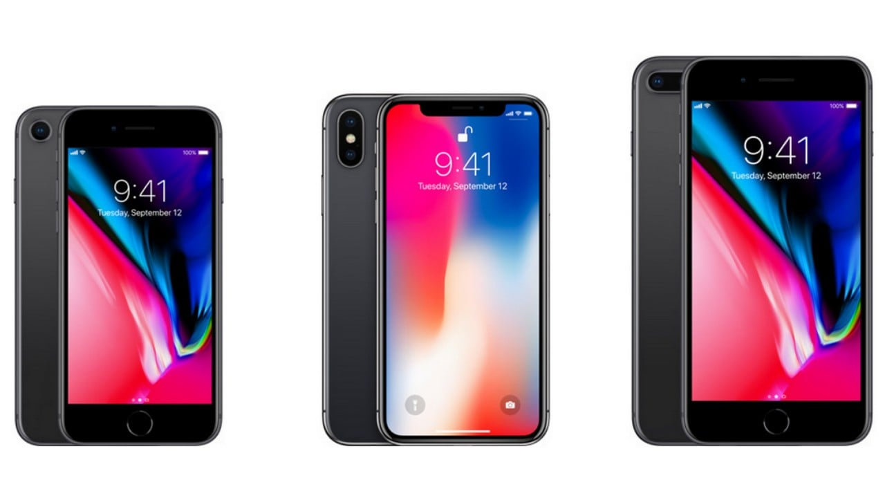 The Apple IPhone 8 X And Plus