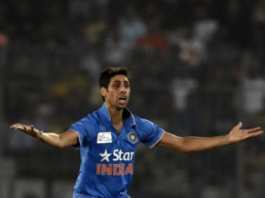 Ashish Nehra has a total of 235 international wickets to his credit from 163 appearances. AFP