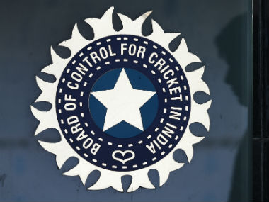 Image of the BCCI logo. AFP
